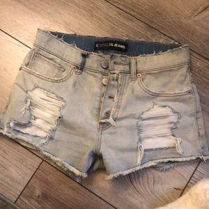 Express size 4 jean shorts NWOT